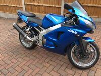 Kawasaki ninja zx600r j2 2001 y reg