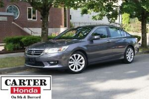 2015 Honda Accord Touring + ACCIDENT FREE + NAVI + CERTIFIED!