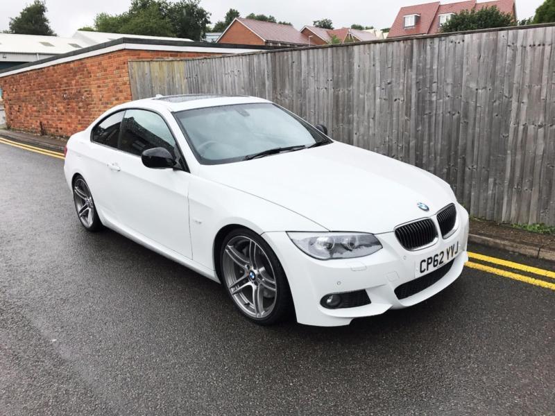 BMW D M SPORT PLUS TD DCT REG MILES - 2012 bmw 335d