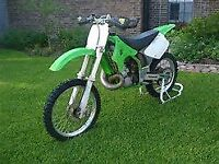 kawasaki kx 250 2 stroke , absolute beast ,very fast bike ,well maintained, rides lovely ready to go