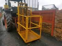Forklift safety man cage basket tractor telehandler etc