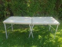 Beauty treatment portable table
