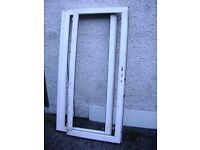 FREE PVC Patio doors, NO GLASS or OUTER FRAME