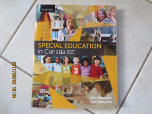 Special Education in Canada Textbook. 2nd Edition.