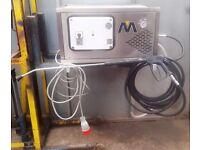 mac international 3 phase industrial pressure washer power jet wash car wash karcher mini digger