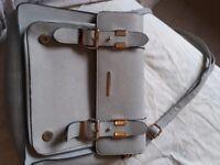 Grey rivet island bag hardly used good condition