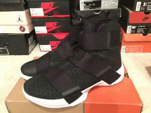 Nike Zoom LeBron Soldier 10 basketball shoes in size 8.5 US