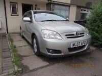 Toyota Corolla 1.4 Litre, 83 k miles, No mechanical issues, see description for details.