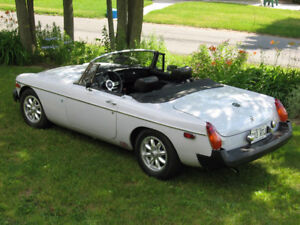 MGB Roadster - Original Paint