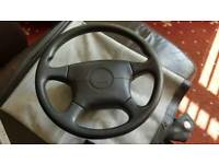Mx5 steering wheel with airbag