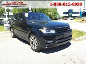 2016 Land Rover Range Rover Sport V8 Supercharged  - leather sea