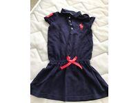 Girls Polo Ralph Lauren Dress Aged 5