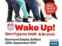 Wake up Pyjama Walk