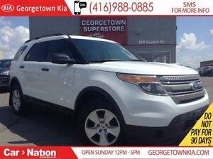2013 Ford Explorer 7 SEATS| 4X4| CLEAN CARPROOF| ONLY 74, 659KMS