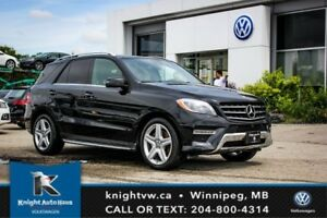 2014 Mercedes-Benz M-Class ML 350 AWD w/ AMG Pkg/Drive Assist