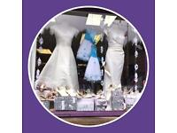 New and Used Wedding Dresses and shoes.