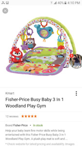 Fisher- Price 3-in-1 Woodland Playmat