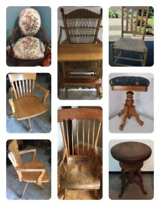 Many Different Chairs