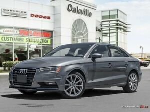 2015 Audi A3 2.0T | AWD | HEATED LEATHER | SUNROOF | NAVI |