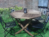 Garden Set 4 chairs and table *NEW*