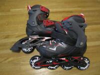Kids Inline Skates, junior size 10.5 – 13