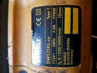 Dewalt DW515KL 110V drill with case