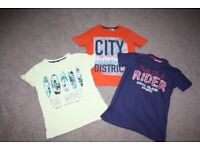 Boys t-shirts - size 10-11 yrs