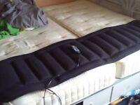 Electric massage mattress