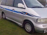 1996 NISSAN LARGO 2.0 DEISEL..AUTOMATIC..7 SEATER..LEATHER SEATS