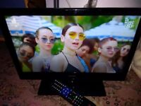 BUSH 19'' LCD LED TV TELEVISION WITH FREEVIEW, HDMI PORT + REMOTE CONTROL
