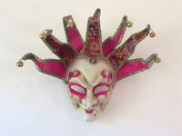 Highly decorative Venetian-style face mask - wall hanging