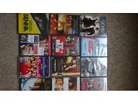 34 DVD films for sale