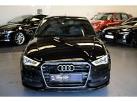 AUDI A3 2.0 TDI S LINE 3DR Manual (black) 2014