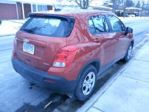 LOW KMS 2016 Chevrolet Trax - SELL OR TAKE OVER LEASE