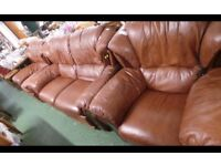 Electric recliner suite,very good condition-DELIVERY
