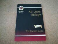 A2 Level Biology CGP Revision Guide - Excellent condition.
