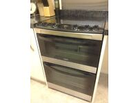 Zanussi ZCV66330XA electric ceramic cooker stainless steel excellent condition