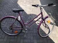 Ladies lovely bsa international 5 speed road / city bike
