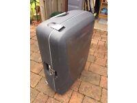 Large Hard Samsonite Suitcase