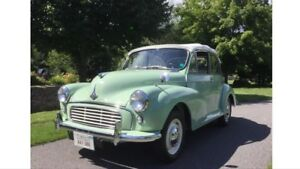 Morris Minor Convertible 1959 antique car