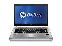 HP EliteBook 8460p,i5, 165gb ssd hard drive, 4gbram,webcam,win10, in excellent condition,refurbished