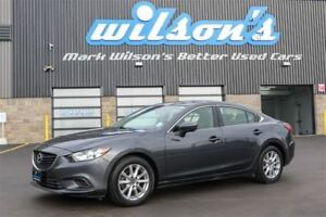 2015 Mazda MAZDA6 GX SKYACTIV! HEATED SEATS! PUSH BUTTON START!