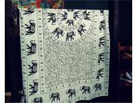 Elephant scarf wrap