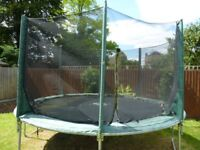 12FT PLUM TRAMPOLINE