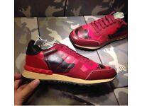 Valentino Garavani Triple Camo Rockrunner Men's Sneakers