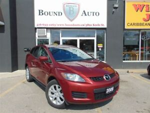 2008 Mazda CX-7 GS-ALLOY WHEELS, SUNROOF, ACCIDENT FREE