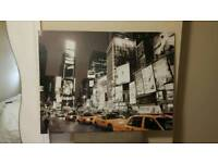 New York canverse wall picture