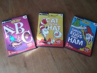 Set of 3 Living Books Dr Seuss PC Games by GSP
