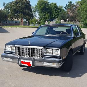 1980 BUICK REGAL BLACK SB-350