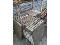 Paving slabs 2ft 6inch by 2ft concrete